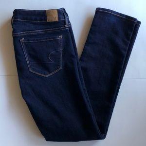 American Eagle Dark Wash Skinny Stretch Jeans